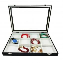 Caseta de prezentare bijuterii 12 spatii