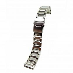 Bratara de ceas Argintie din Otel Inoxidabil - 20mm, 22mm - BR3226
