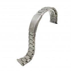 Bratara de ceas Argintie din Otel Inoxidabil - marime la telescop reglabila 16-22mm - BR3227