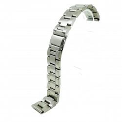 Bratara pentru ceas Argintie din otel inoxidabil - 18mm - BR3228