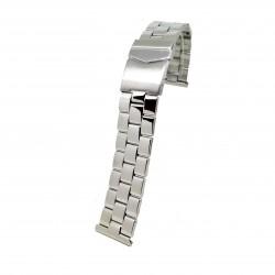 Bratara pentru ceas Argintie din Otel Inoxidabil - 22mm - BR3230
