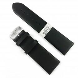 Curea de ceas Neagra din piele naturala Morellato - 24mm - C3230