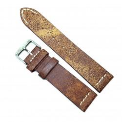 Curea pentru ceas Maro Vintage din piele naturala- 22mm - C3248
