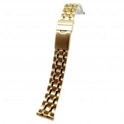 Bratara de ceas Aurie din Otel Inoxidabil - 20mm - 14A22