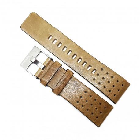 Curea de ceas  din piele naturala DIESEL pentru ceasul DZ7303 - 24mm