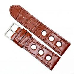 Curea de ceas din piele veritabila de Crocodil - 22mm, 24mm - 1FL14D62