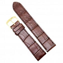 Curea de ceas din piele veritabila de Crocodil - 18mm, 20mm - 1DX14D62