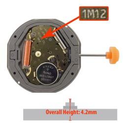 Mecanism De Ceas Miyota 1M12