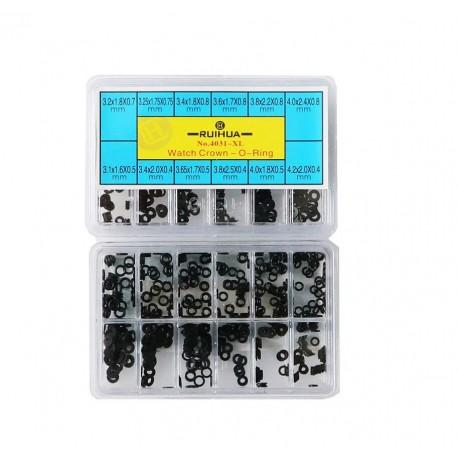 Set de O-ring XL pentru ceasuri sau mecanica fina