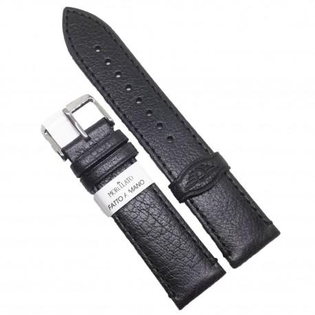 Curea de ceas neagra Morellato 20m 22mm Manufatti Lawson (editie limitata) A01X5335599019CR