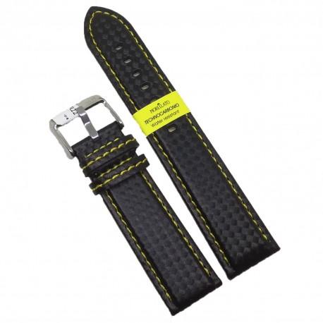Curea de ceas Carbon Morellato Sport 22mm 24mm A01U3586977897CR