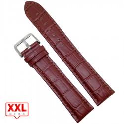 Curea de ceas maro XXL 22mm