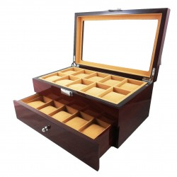 Cutie pentru 20 de ceasuri LEMN - WZ3596