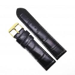 Curea de ceas din piele veritabila de Crocodil 1EX14D62 - 22mm
