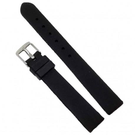 Curea de ceas din silicon neagru  14mm ME1129