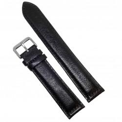 Curea ceas Tech Swiss piele neagra XXL 22mm  WZ996