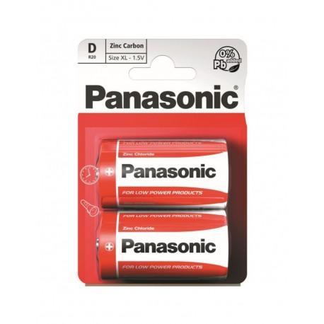 Baterie Panasonic D R20 Set 2 Baterii