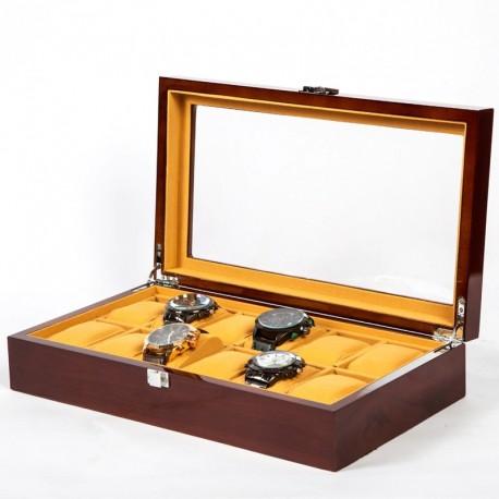 Cutie pentru 12 ceasuri din Lemn - Trump - WZ3674