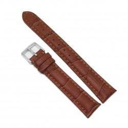 Curea de ceas Chermond - Maro + Imprimeu Crocodil - 16mm - WZ3697