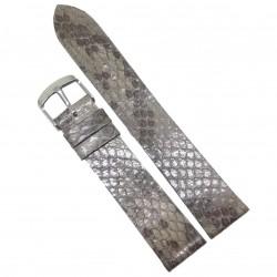 Curea de ceas din piele veritabila de sarpe 18mm 20mm 22mm WZ484