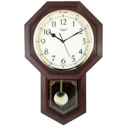 Ceas de perete cu pendulă RIKON RK-29 Brown