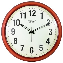 Ceas de perete RIKON 1507 PL Brown Ivory