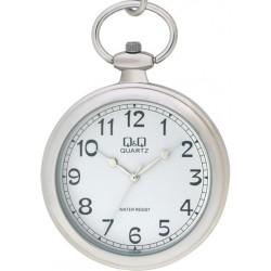 Ceas De Buzunar Argintiu Q&Q C170-204Y