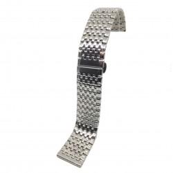 Bratara de ceas Argintie din Otel Inoxidabil - 22mm - WZ3790