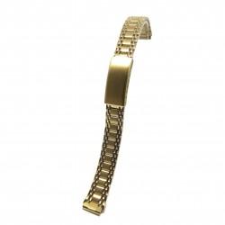 Bratara pentru ceas de dama - Aurie - 12mm - WZ3811