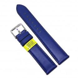 Curea de ceas Morellato Croquet Nappa - Culoare Albastra - 20mm - A01X5123C03065CR