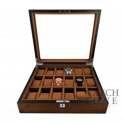 Cutie depozitare și expunere 18 ceasuri lemn - PREMIUM - WZ3932
