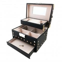 Caseta de bijuterii - Black and Gold - WZ3941