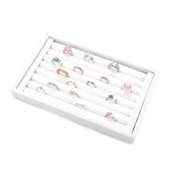 Suport organizare inele, bijuterii, butoni - Culoare Alba - 23cm - WZ2046