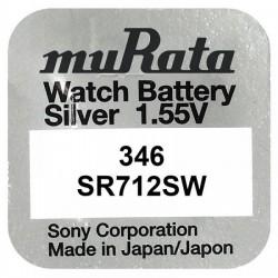 Baterie pentru ceas - Murata SR712SW - 346