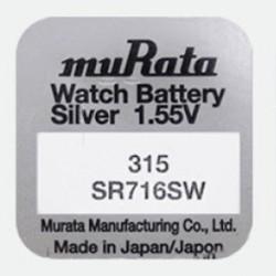 Baterie pentru ceas - Murata SR716SW - 315