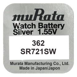 Baterie pentru ceas - Murata SR721SW - 362