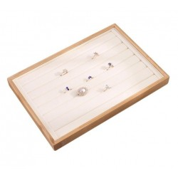Tava pentru expunere bijuterii din bambus - WZ4185