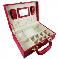 Casetă pentru bijuterii 12 spații diverse - WZ2495