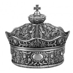 Caseta bijuterii Mare metalica - King's Crown - WZ4206
