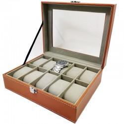 Caseta Maro-Deschis Cu 10 Spatii Pentru Depozitarea WZ1667