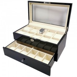Cutie pentru depozitarea ceasurilor cu 16 spatii WZ1600