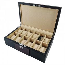 Cutie din lemn pentru 12 ceasuri CH36