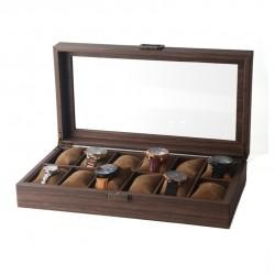Cutie pentru 12 ceasuri Tabacco Brown - Culoare Maro - WZ4320
