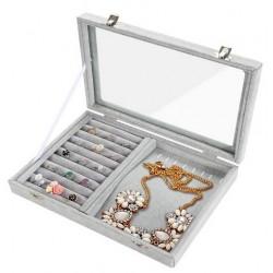 Caseta Gri pentru prezentare bijuterii WZ4341