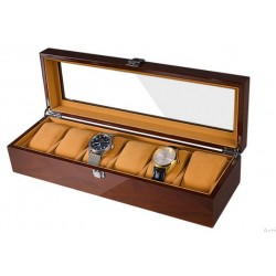 Cutie pentru 6 ceasuri din Lemn Ivanka WZ4355