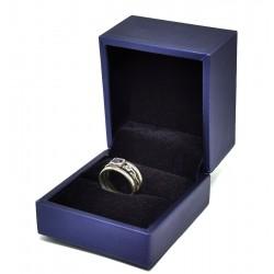 Cutie pentru inel Albastra sau Gri WZ4425