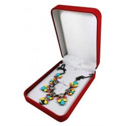 Cutie cadou cu fundita pentru lantisoare sau bratari WZ4455