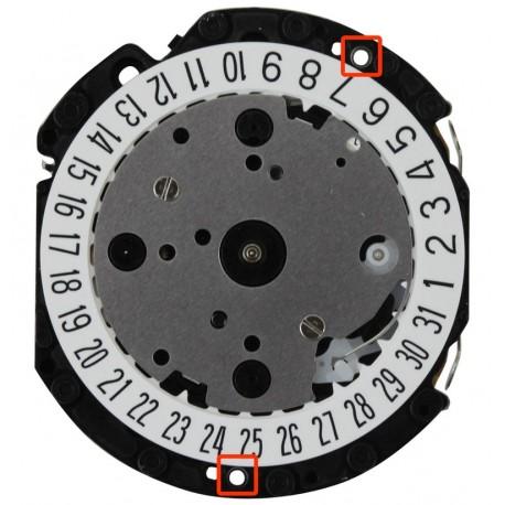 Mecanism Ceas Quartz Hattori Chronograph VD31