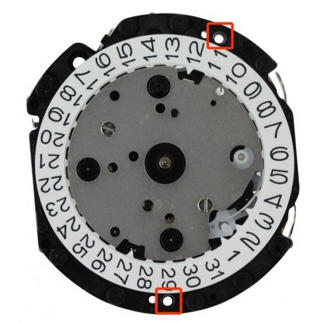 Mecanism Ceas Quartz Hattori Chronograph VD33