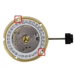 Mecanism Ceas Quartz ETA F04.111